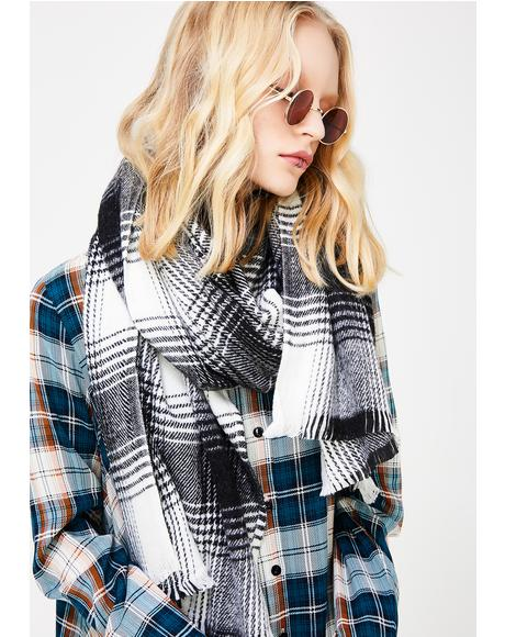 Academy Rocks Plaid Scarf