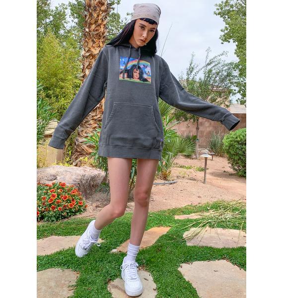 Color Bars X Aaliyah Meadow Pullover Hoodie