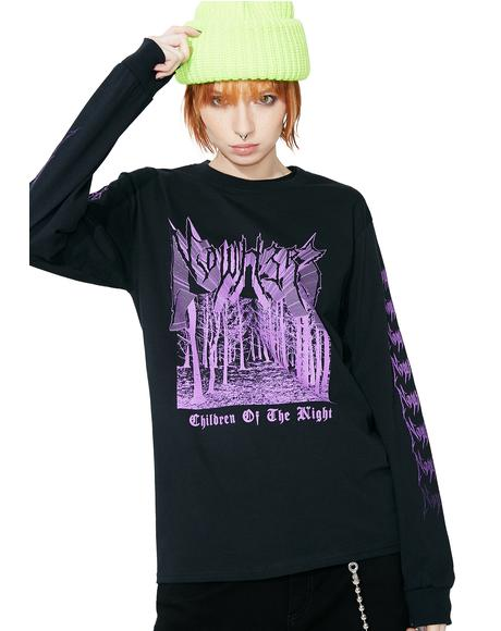 Nocturnal Long Sleeve Tee