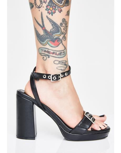 Tit For Tat Block Heels