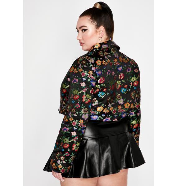 True Grunge Glory Brocade Jacket