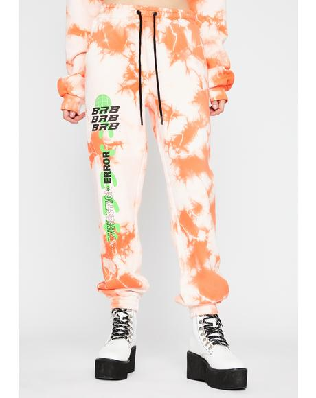 Juicy Fresh Tie Dye Sweatpants