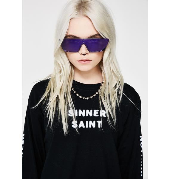 Rad and Refined Royalty Terminator Sunglasses