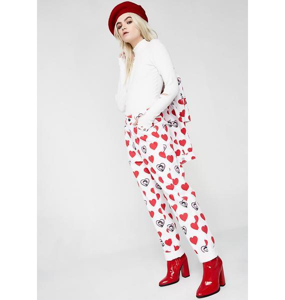 Lazy Oaf Betty Boop Heart Jeans