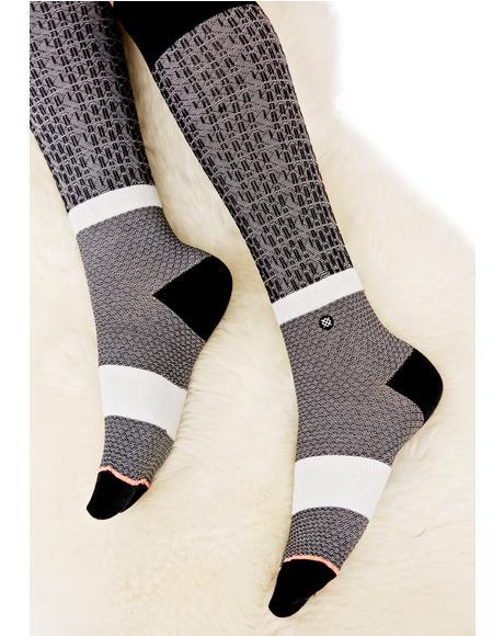 Library Tall Socks