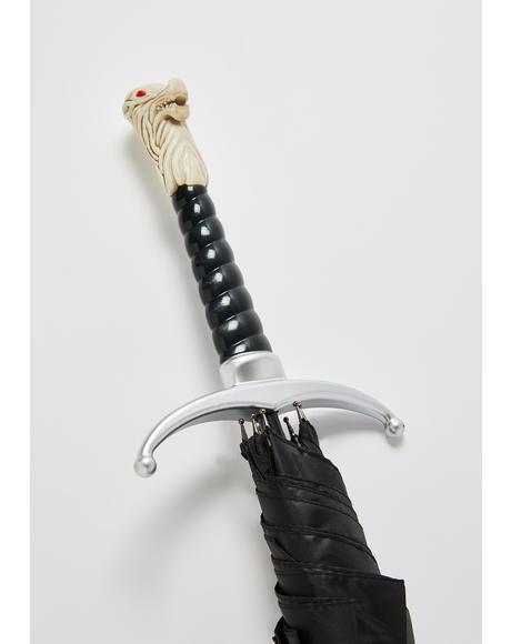 Game Of Thrones Stark Handle Umbrella