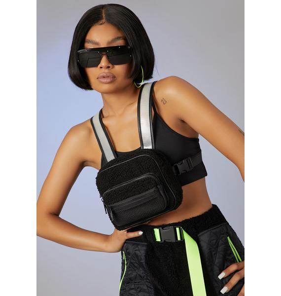 Poster Grl Black Sheep Fam Chest Harness