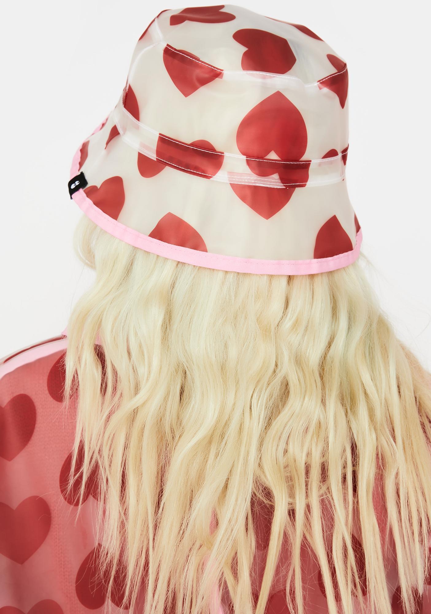 Lazy Oaf See Through Heart Bucket Hat