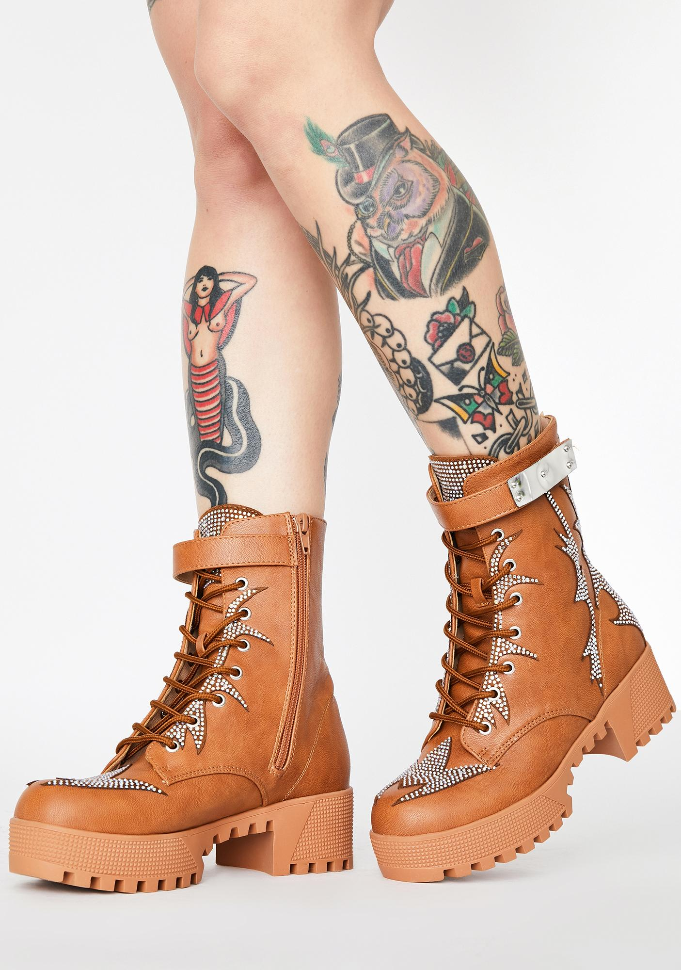 Beach Bling Squad Rhinestone Boots