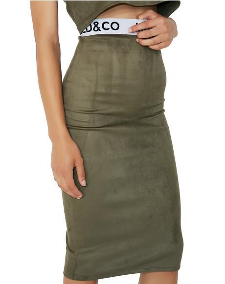 Military Alex Skirt