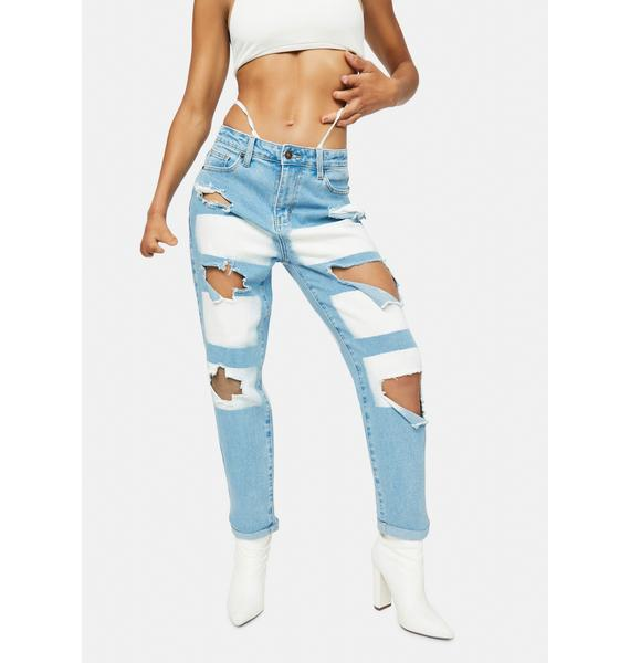 Lost Then Found Mom Jeans