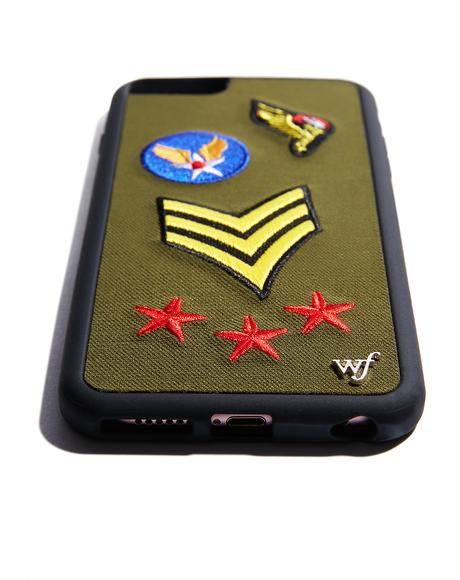 Military Patches iPhone Case