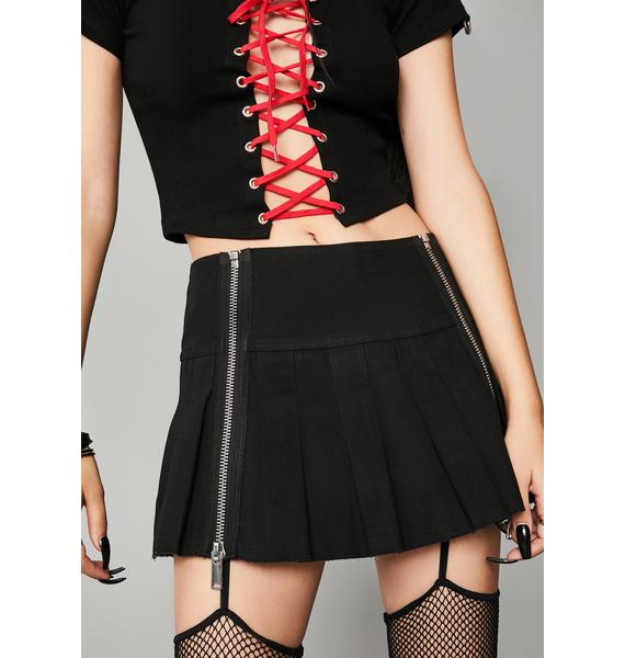 Widow Worlds Apart Mini Skirt