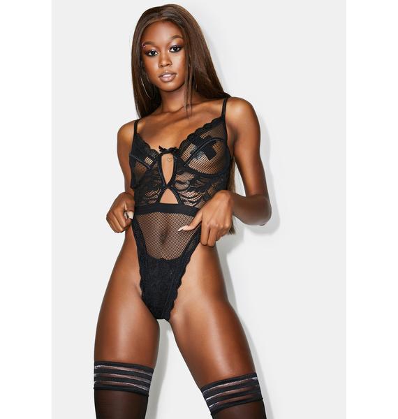 Poster Grl Worst Behavior Lace Bodysuit