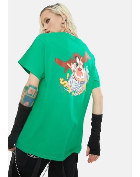 x Looney Tunes Tasmanian Pocket Tee