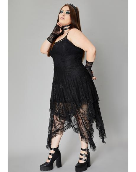 True Serene Specter Lace Dress