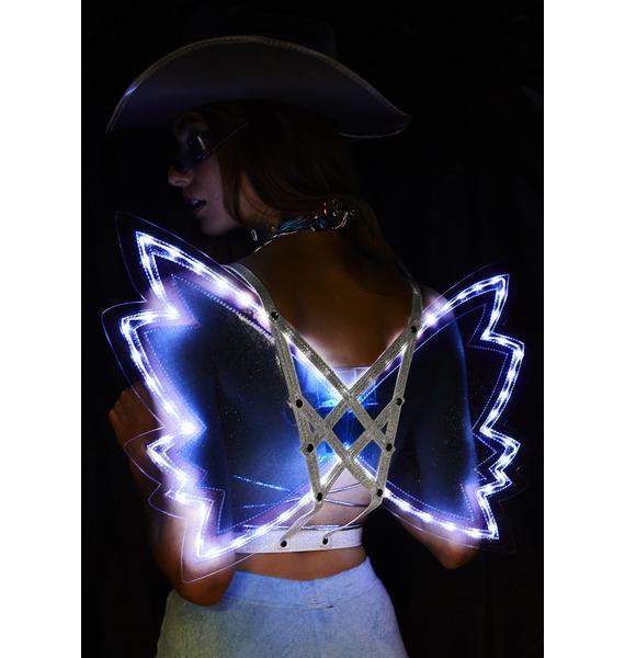 Club Exx Archangel Light Up Wings