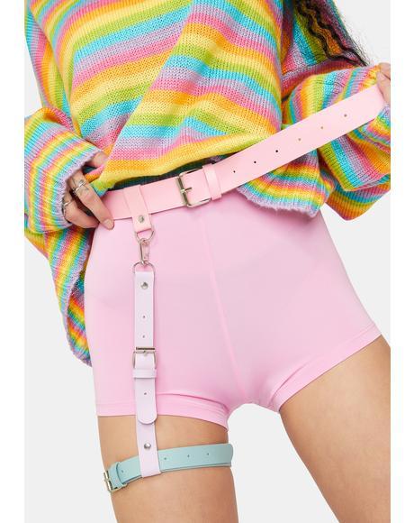 Sherbet Daydream Leg Harness Belt
