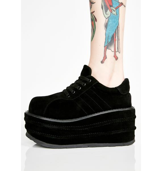 Demonia Grave Walker Platform Sneakers