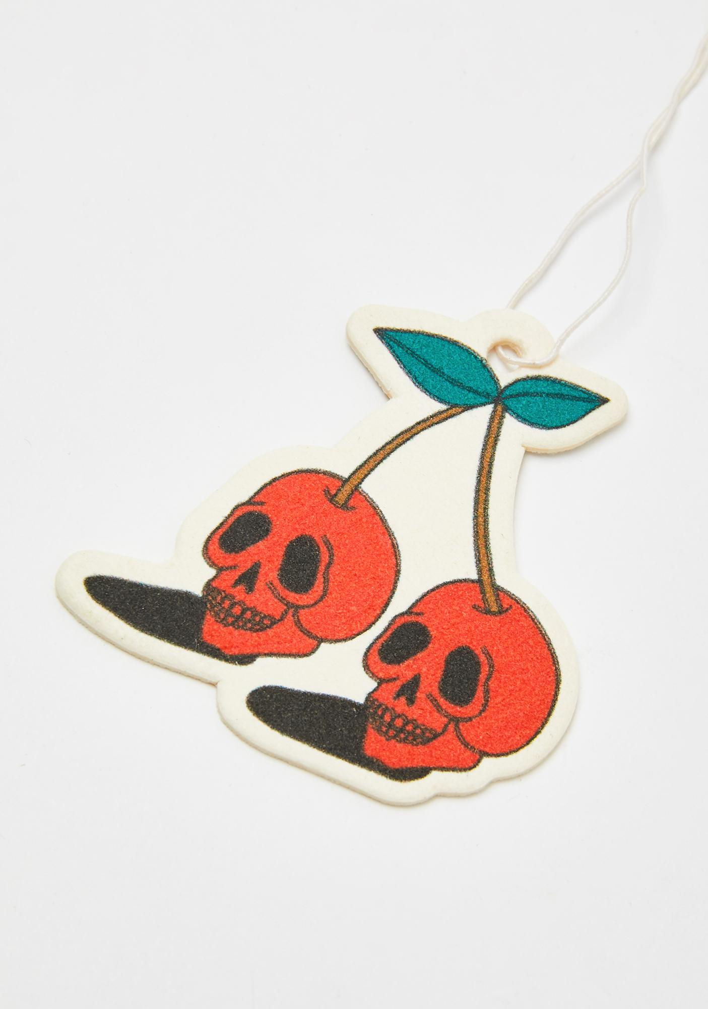 Stickie Bandits Skull Cherries Air Freshener