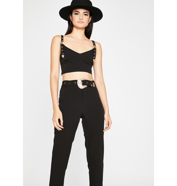 Stand Off Pant Set