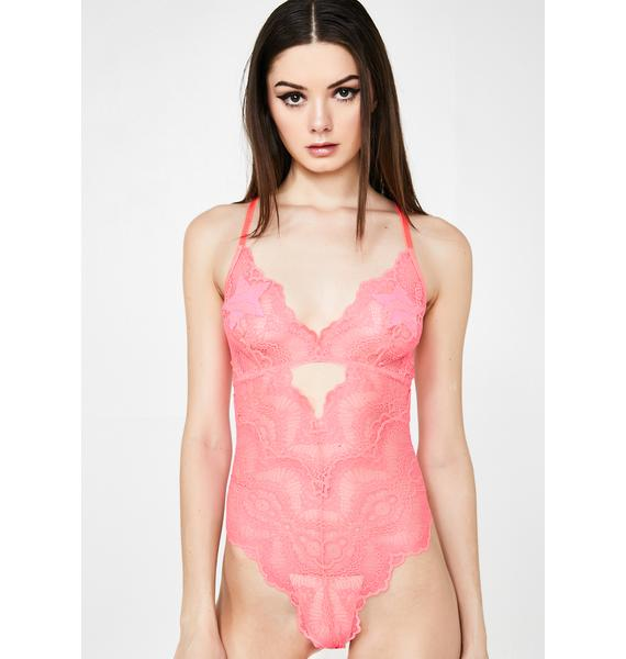 Exotic Candy Lace Teddy