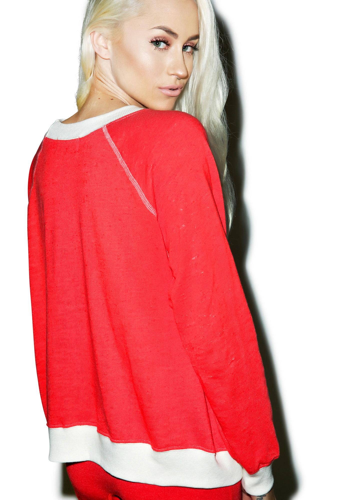 Wildfox Couture Rockin' Around Kim's Sweater