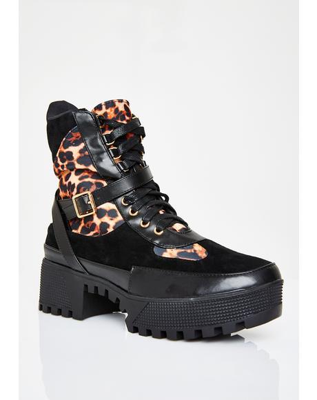 Boujee Badazz Combat Boots