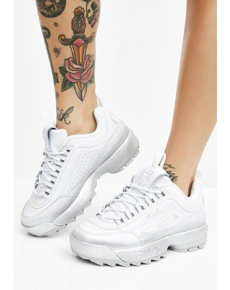 Disruptor II Premium Fade Sneakers