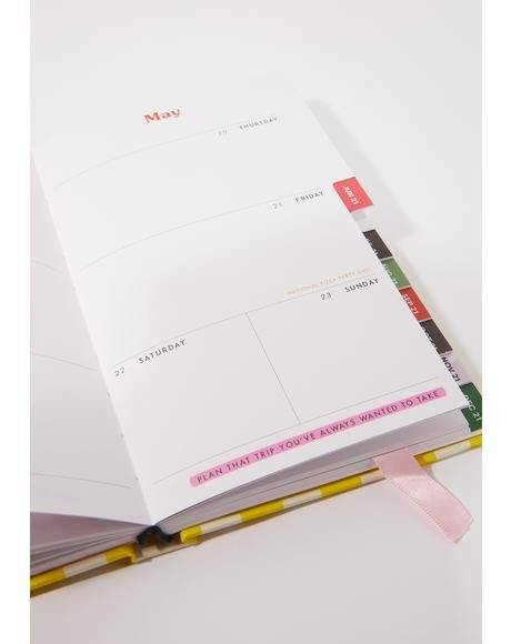 Look Forward 2021 12 Month Planner