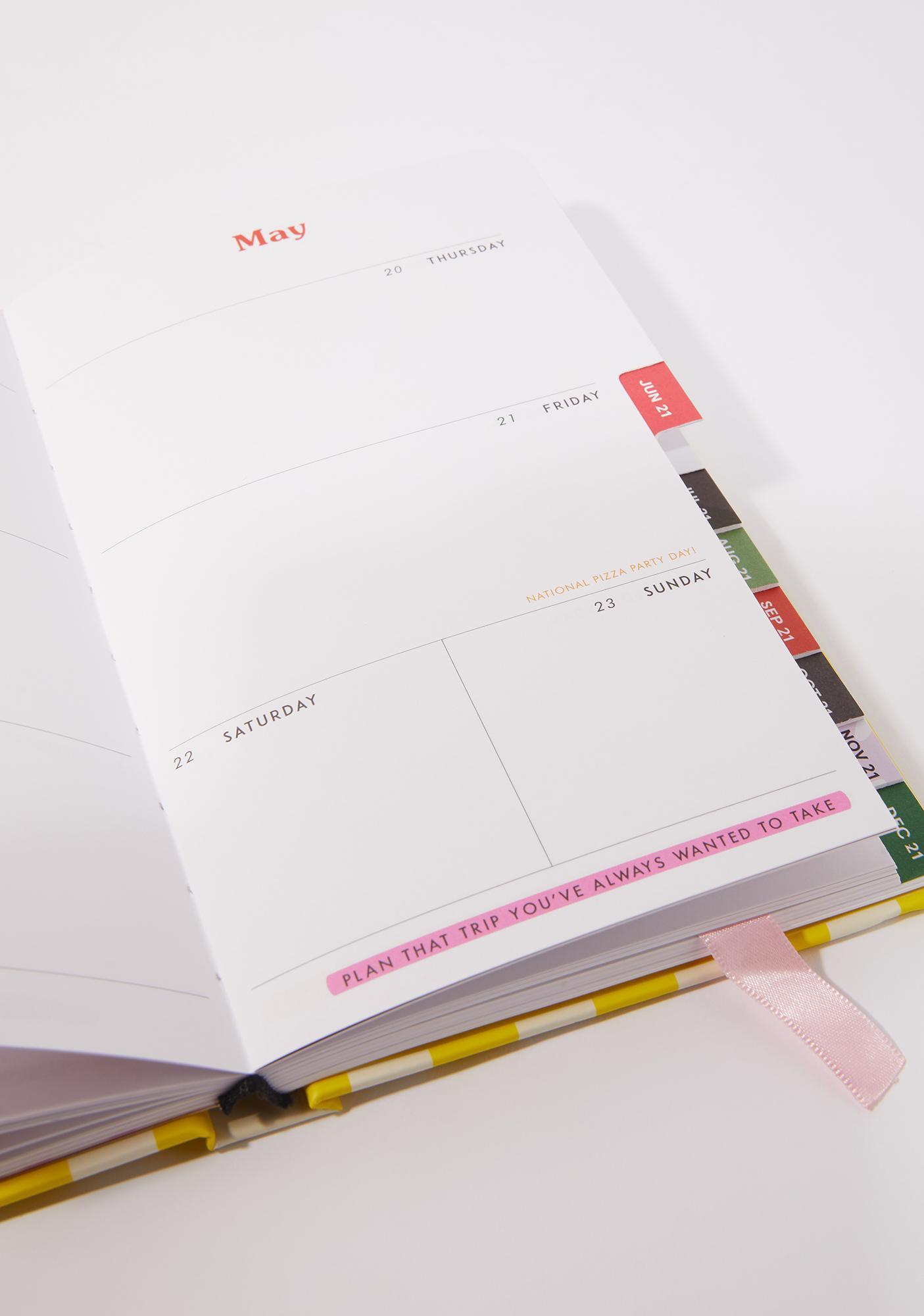 ODD GIRAFFE Look Forward 2021 12 Month Planner