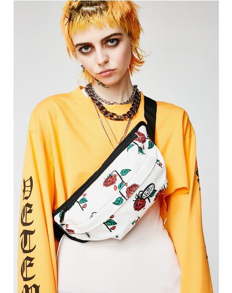 Petals Rose Waist Bag