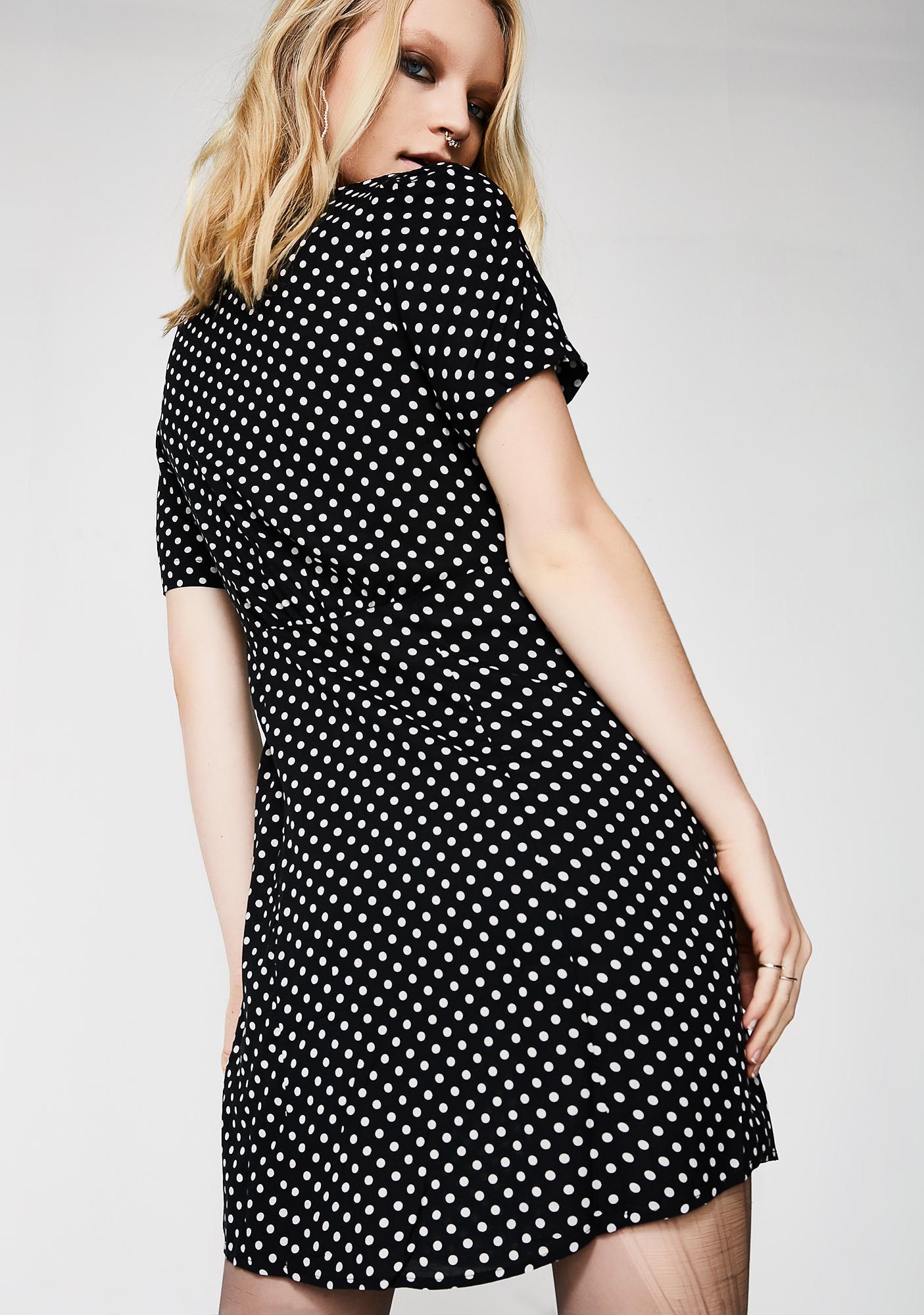 Kasuma Polka Dot Dress