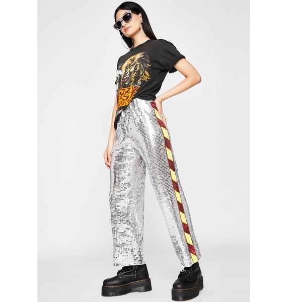 Race Ya There Sequin Track Pants