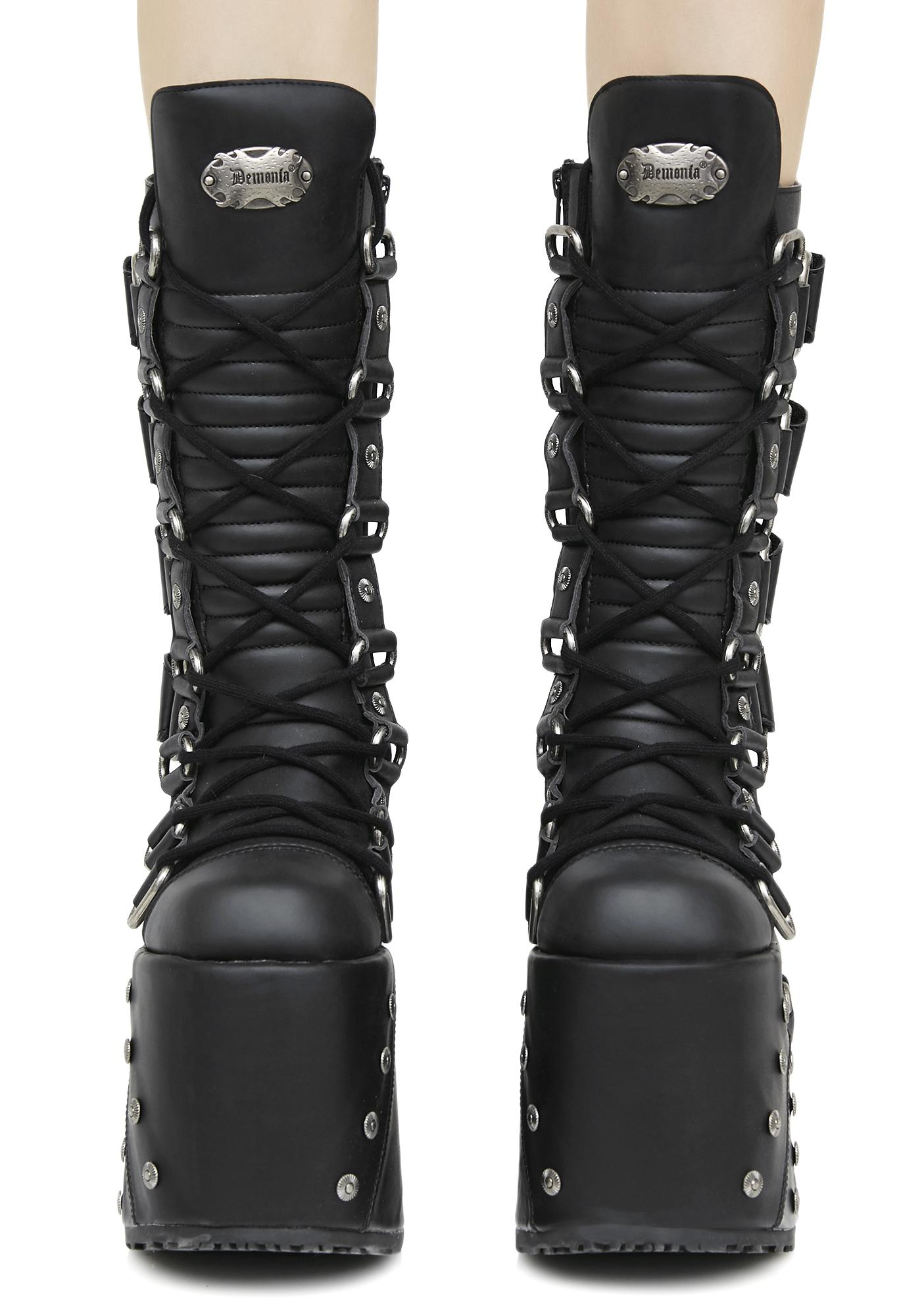 Demonia Queen Of The Damned Platform Boots