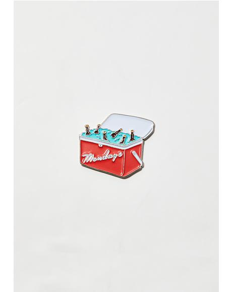 Case Of Mondays Lapel Pin