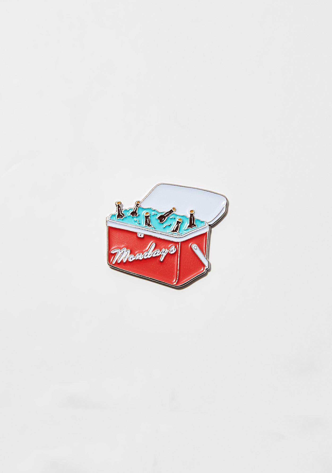 Rosehound Apparel Case Of Mondays Lapel Pin