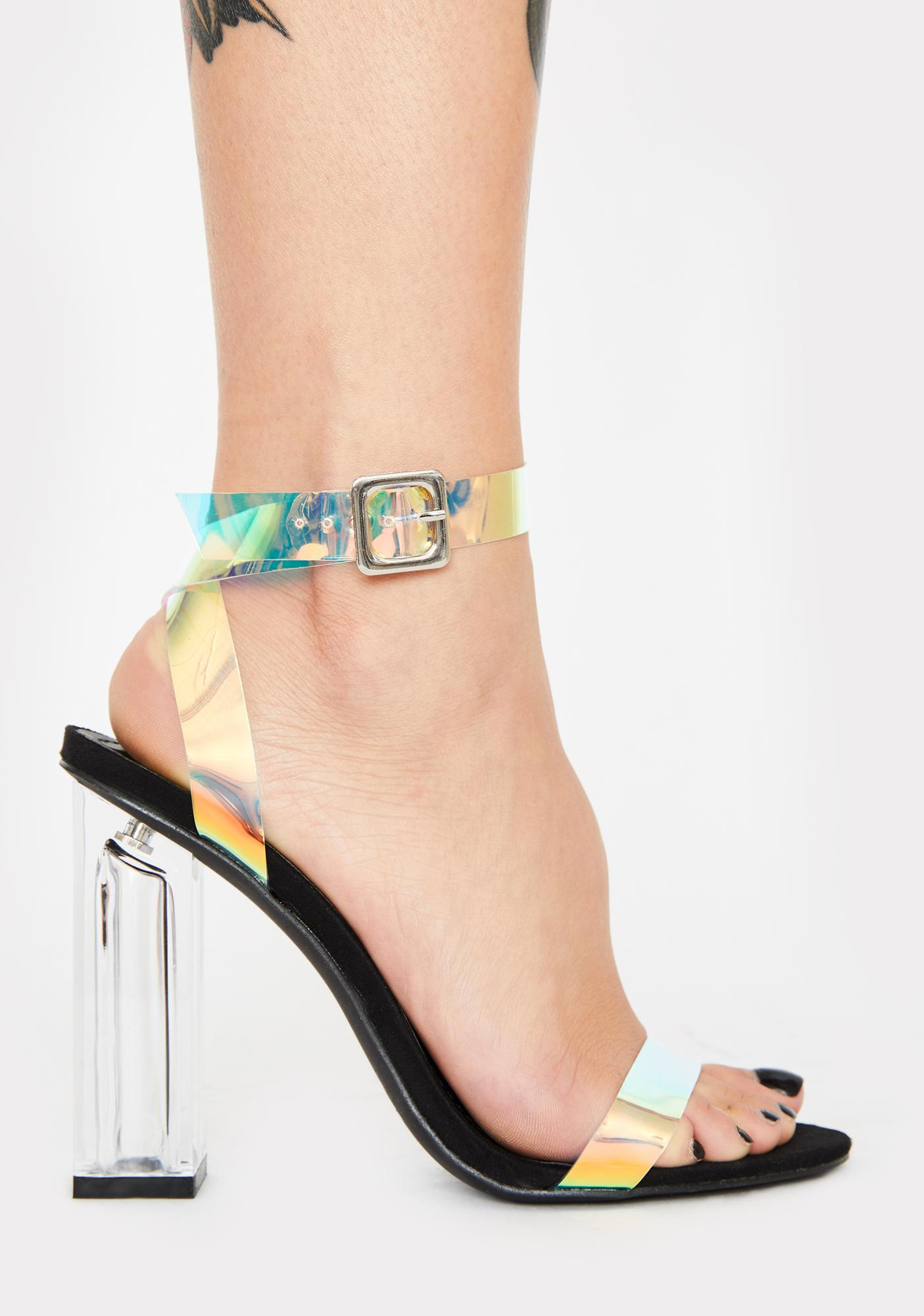 Pixie Wings Iridescent Heels