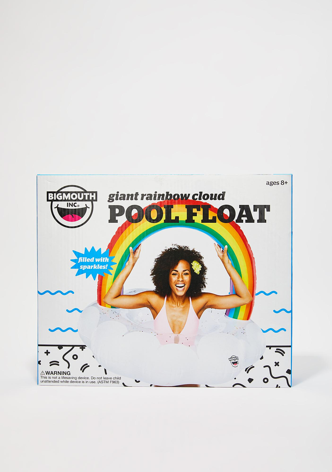 Under The Rainbow Pool Float