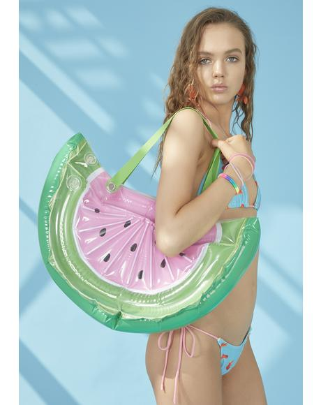Beach Trip Watermelon Bag