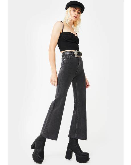 Eastcoast Crop Flare Pants