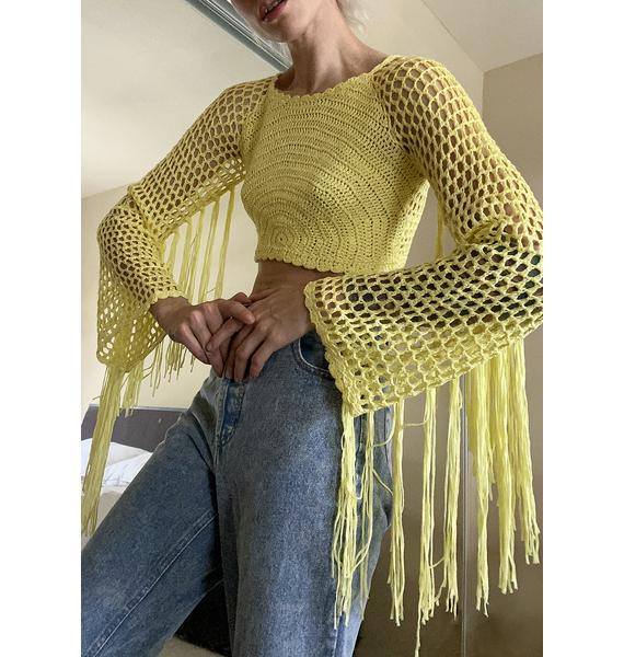 Mellow Supreme Boheme Crochet Top