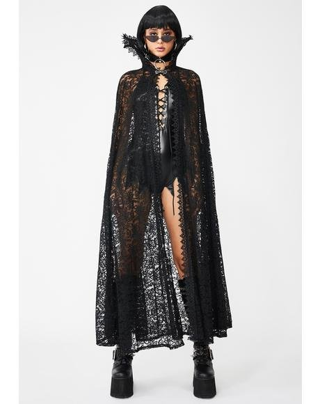 Eye of Newt Lace Cape