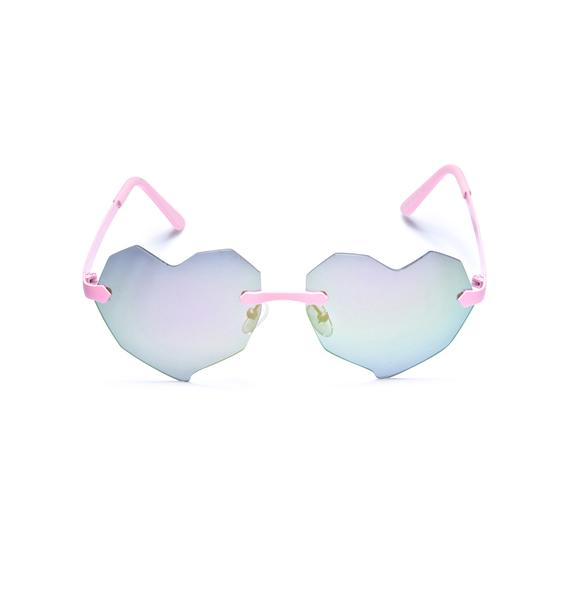 ESQAPE Lovelii Heart Sunglasses
