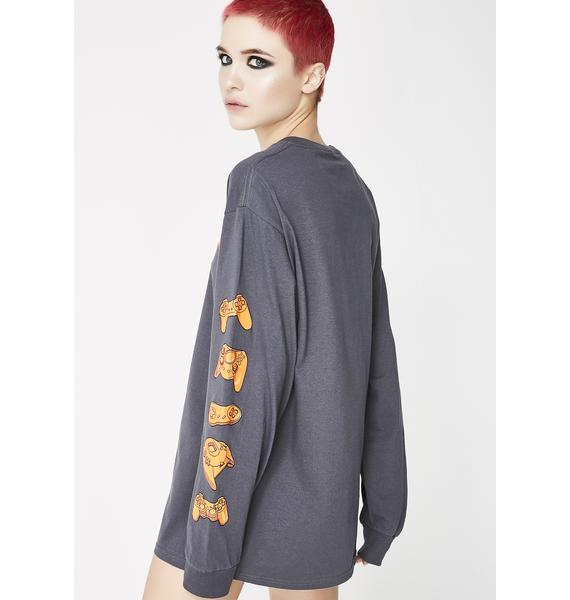 Ain't Nobody Cool All Systems Go Long Sleeve Tee