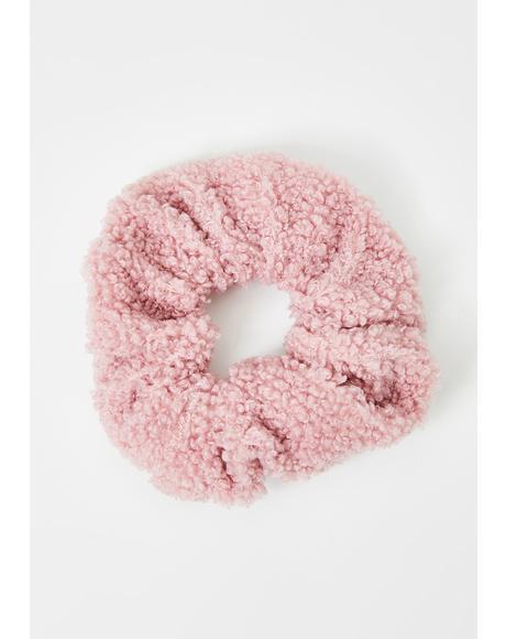 Warm Fuzzy Feelings Scrunchie