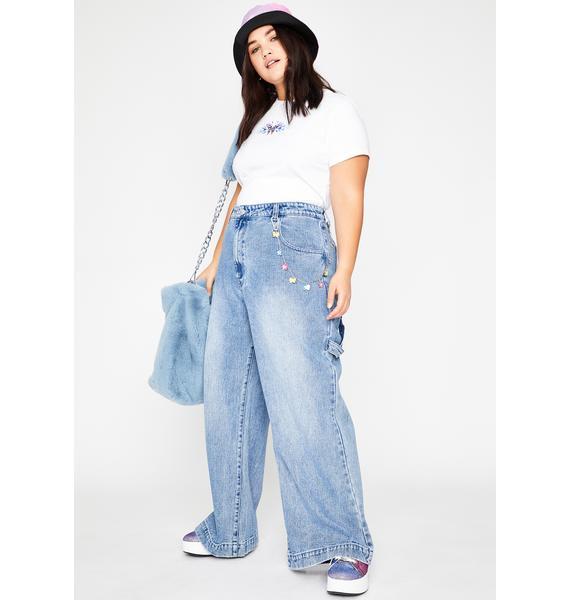 dELiA*s by Dolls Kill Always So Misunderstood Denim Jeans