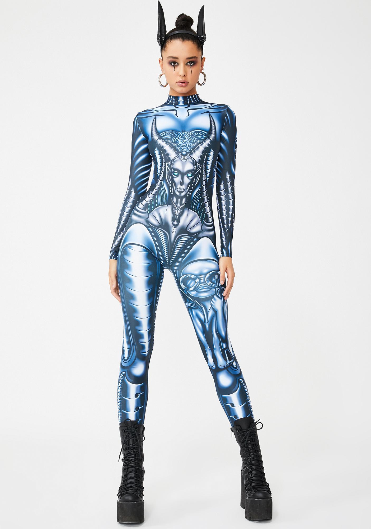 Badinka Alien Queen Costume