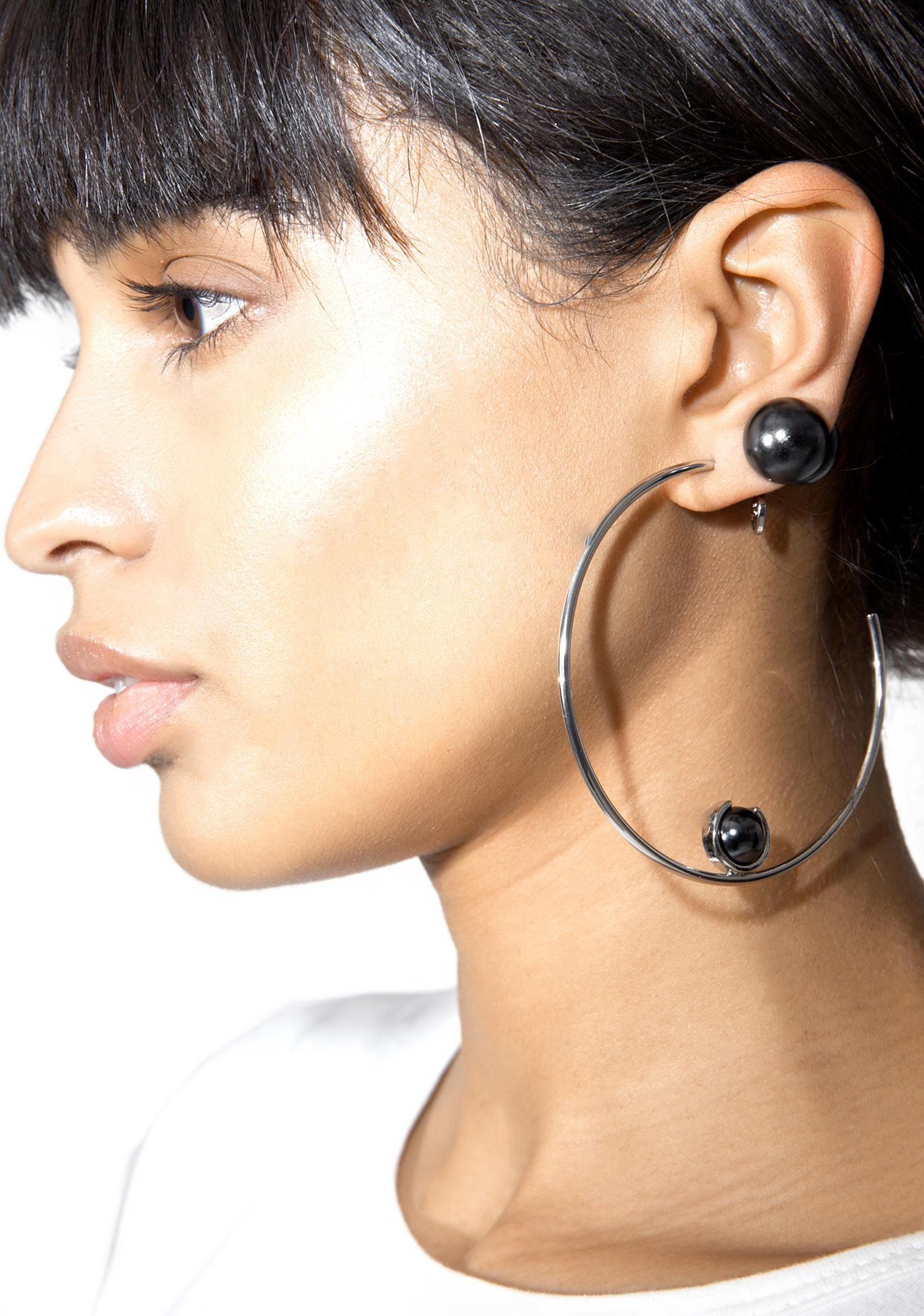Cheap Monday New Romantic Earrings