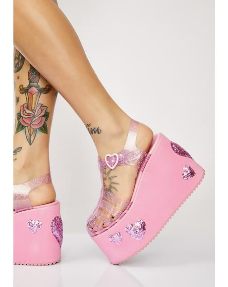 Million Dollar Baby Jelly Platforms